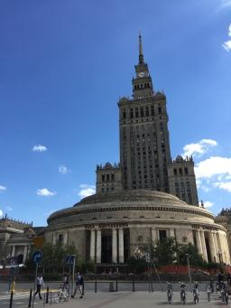 A la découverte de Varsovie