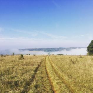 Trail entrange campagne